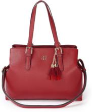 Handväska från Basler röd