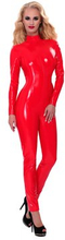 Datex - Catsuit with Zipper at the Back (Storlek: M)