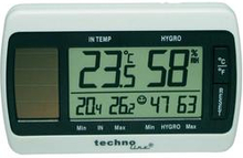 Techno Line Solar Thermo-Hygrometer Solcells-thermo-/ hygrometer