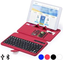 Bluetooth-näppäimistö, jossa tuki mobiililaitteelle 145739