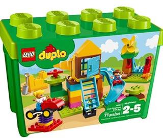 LEGO DUPLO 10864 LEGO® DUPLO® Stor lekplats – Klosslåda