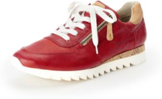 Sneakers Fra Paul Green rød