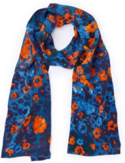 Tørklæde 100% silke Fra Laura Biagiotti Donna multicolor