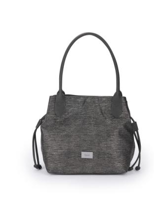 Metallicglänsande väska för kvinnor från Gabor Bags svart