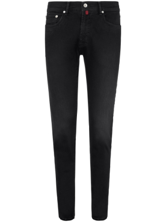 Jeans model Lyon Fra Pierre Cardin sort - Peter Hahn