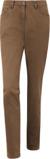 'Slim Fit'-jeans fra Brax Feel Good, model MARY Fra Brax Feel Good brun