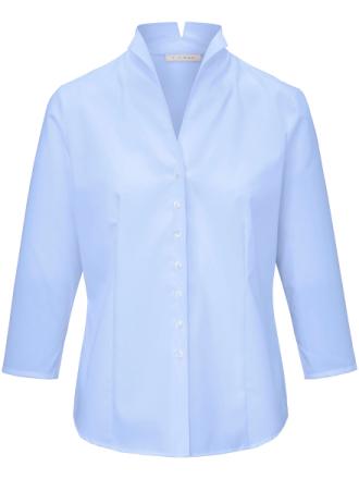 Skjorte 3/4-ærmer Fra Eterna blå - Peter Hahn