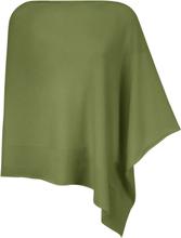 Poncho 100% kashmir Fra Peter Hahn Cashmere grøn
