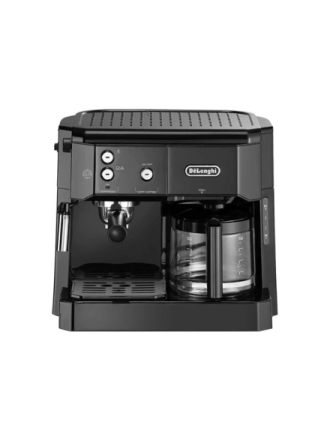 De'Longhi BCO 411.B - coffee machine with drip coffee maker and cappuccinatore - 15 bar - silver/black