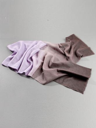 Tørklæde Fra Uta Raasch lilla - Peter Hahn