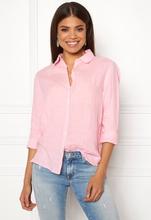bcac9eb3e659 Boomerang Lina Linen Shirt Middway Pink 38