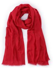 Schal aus Kaschmir Seide Uta Raasch rot