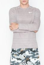 Nike M Nk Dry Miler Top Ls Träningströjor Grå