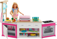 Barbie Cooking & Baking Deluxe Kitchen