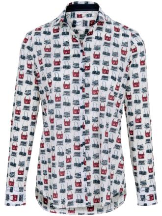Skjorte 1/1 arm Fra Eterna multicolor - Peter Hahn