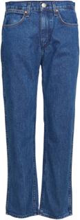 Vintage Straight Rette Jeans Blå Rag & B