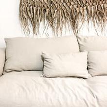 Ibiza pellava sohva - Hiekka