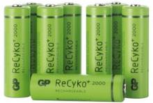 GP BATTERIES GP ReCyko AA 2000mAh 8-pack 4891199167829 Replace: N/AGP BATTERIES GP ReCyko AA 2000mAh 8-pack