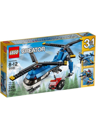 Creator Twin Spin Helicopter - 31049 - Proshop