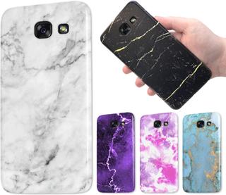 Samsung galaxy a3 (2017) - marmor skal - över 60 motiv