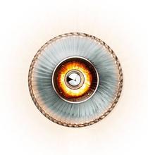 Design by Us New Wave Optic XL Væglampe Røgfarvet