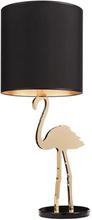 Design by Us Crazy Flamingo Bordlampe Sort