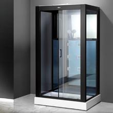 Stor exklusiv duschkabin med massage och entertainmentsystem