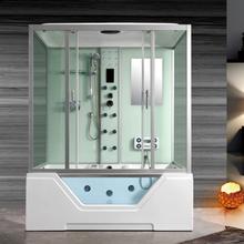 Premium duschkabin med jacuzzi för 2 personer