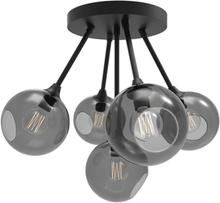 Design by Us Ballroom Molecule Loftlampe Røgfarvet/Guld