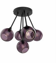 Design by Us Ballroom Molecule Loftlampe Lilla/Sort