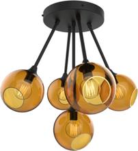 Design by Us Ballroom Molecule Loftlampe Rav/Sort