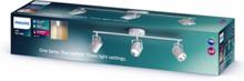 BYRE bar/tube white 3x4.3W SELV Spot Skinner