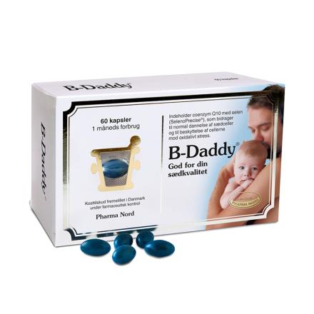 B-Daddy til manden - 60 kapsler