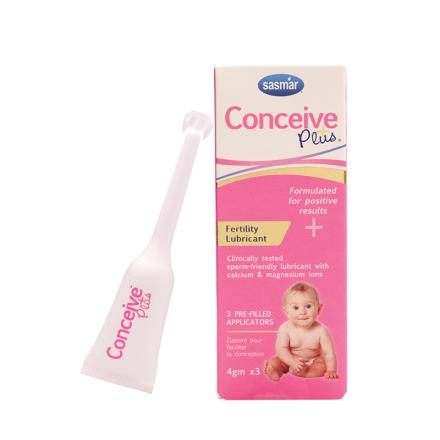 Conceive Plus 3 x 4g tuber - babyplan.dk