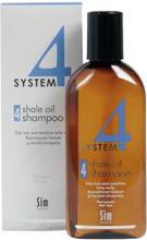 Sim System 4 Shale Oil Shampoo 4 - Rasvoittuville hiuksille