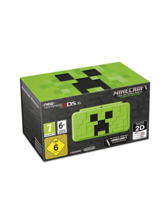 New 2DS XL - Creeper Edition (inkl. Minecraft 3DS)
