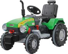 Eltraktor Jamara Power Drag SPR 9800 Grön med lampor 12 volt