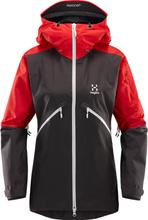 Haglöfs Khione Jacket Women (2018) Dame skijakker ufôrede Sort XS