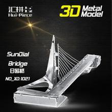 3d Pussel Metall - Berömda Byggnader - Sundial Bridge