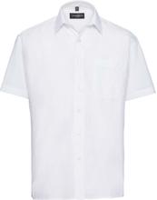 Skjorta Gibson vit regular fit kort ärm