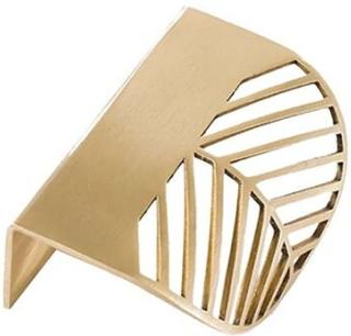 Bladformat Handtag - Guld