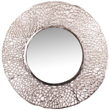 Organic spegel 81 cm - Nickel