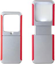 Ficklampa, Grå/Röd