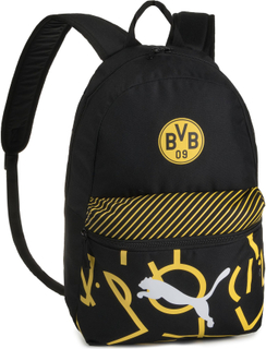 Ryggsäck PUMA - Bvb Puma Dna Backpack 767940 02 Puma Black/Cyber Yellow
