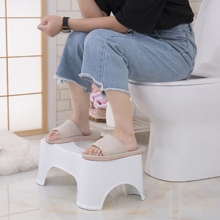 Qualified Squatty Bathroom Thicken Portable Stools Toilet Stool Step Footstool Piles Relief Aid Safety Stool