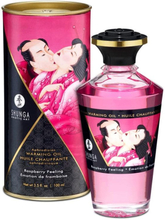 Shunga - Varming Massage Oil, Raspberry