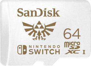 SANDISK Minnekort MicroSDXC for Nintendo Switch 64GB UHS-I, 100/60