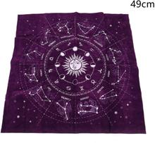 12 Constellations Tarot Card Bordsduk Divination Altar Cloth B