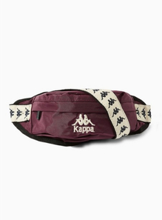 KAPPA Burgundy Cross Body Bag