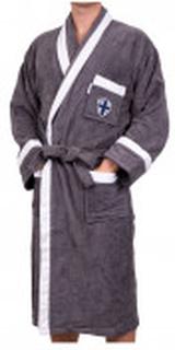 Velour Robe Grey L/XL